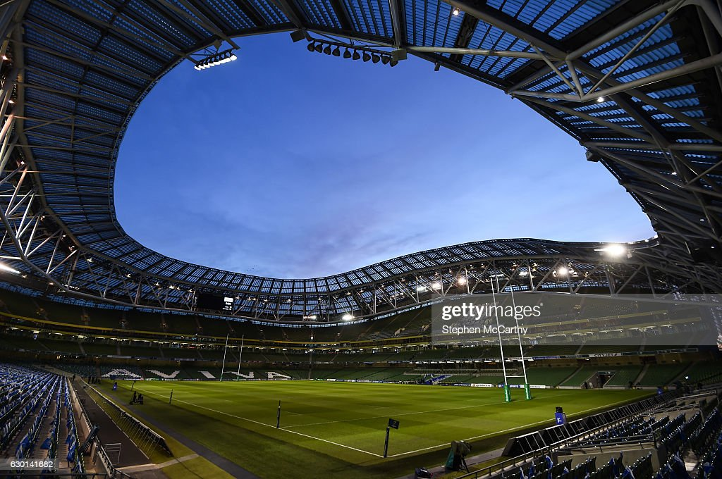 Leinster v Northampton Saints - European Rugby Champions Cup Pool 4 Round 4 : News Photo