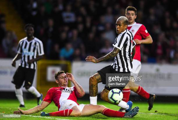 Newcastle United Manager Rafael Benitez during the Pre Season Friendly match between StPatricks Athletic and Newcastle United at Richmond Park on...