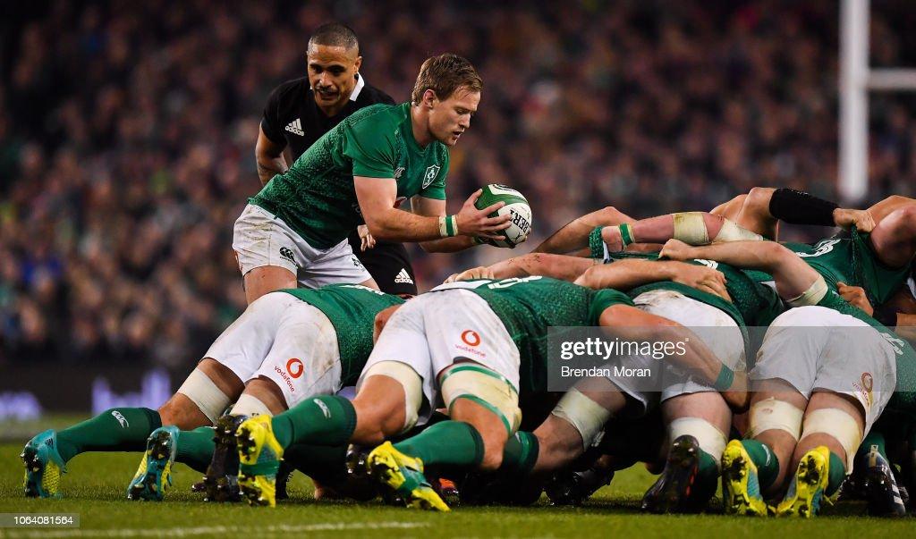 Ireland v New Zealand - Guinness Series International : ニュース写真