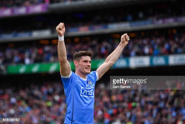 Dublin Ireland 17 September 2017 Diarmuid Connolly of Dublin celebrates following the GAA Football AllIreland Senior Championship Final match between...
