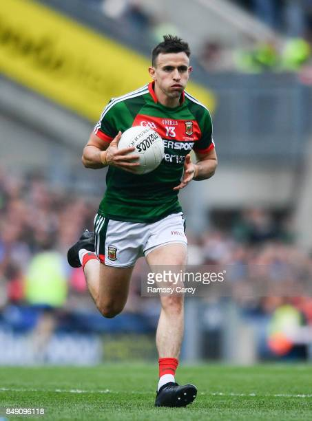 Dublin Ireland 17 September 2017 Jason Doherty of Mayo during the GAA Football AllIreland Senior Championship Final match between Dublin and Mayo at...