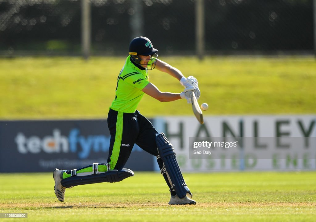 Ireland v Scotland - T20 International Tri Series : News Photo