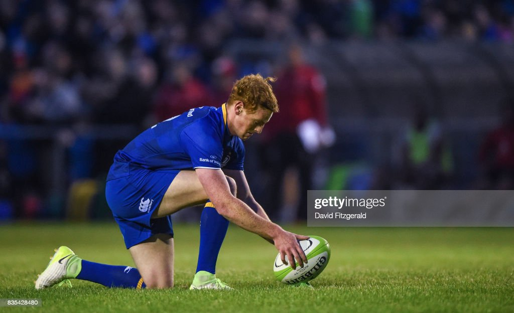 Dublin , Ireland - 18 August 2017; Cathal Marsh of Leinster during the Bank of Ireland Pre-season Friendly match between Leinster and Gloucester at St Mary's RFC in Dublin.