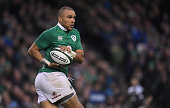 dublin ireland simon zebo ireland during