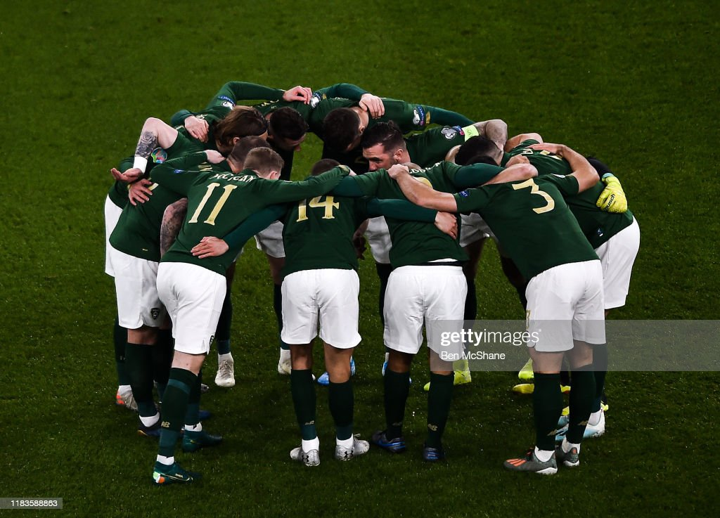 Republic of Ireland v Denmark - UEFA EURO2020 Qualifier - Group D : News Photo