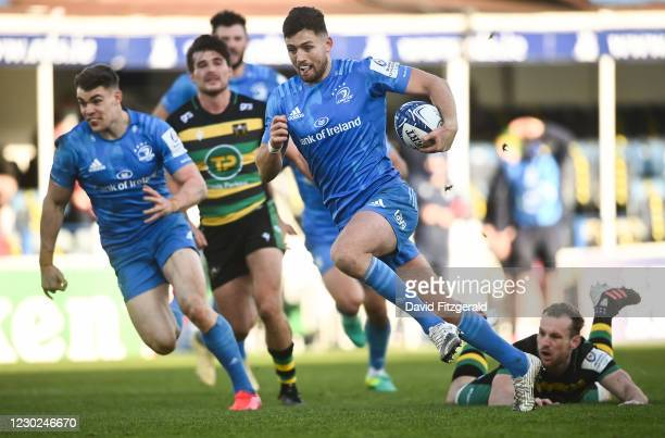 Dublin , Ireland - 19 December 2020; Ross Byrne of Leinster during the Heineken Champions Cup Pool A Round 2 match between Leinster and Northampton...
