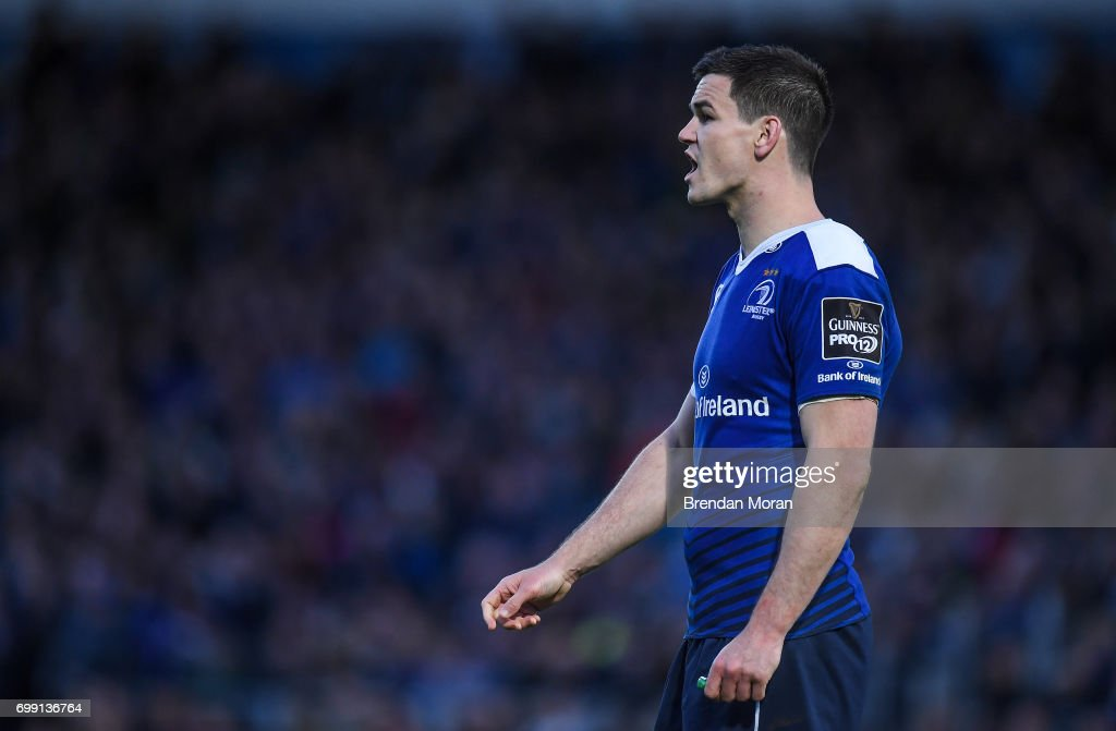 Dublin , Ireland - 19 May 2017; Jonathan Sexton of Leinster during the Guinness PRO12 Semi-Final match between Leinster and Scarlets at the RDS Arena in Dublin.