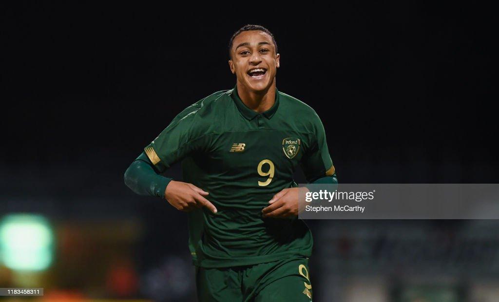 Republic of Ireland v Sweden - UEFA European U21 Championship Qualifier : News Photo
