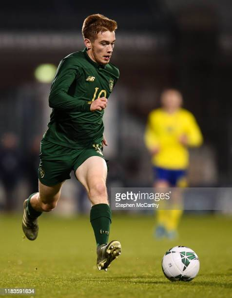 Dublin Ireland 19 November 2019 Connor Ronan of Republic of Ireland during the UEFA European U21 Championship Qualifier match between Republic of...