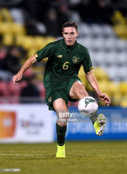 Dublin Ireland 19 November 2019 Conor Coventry of Republic of Ireland during the UEFA European U21 Championship Qualifier match between Republic of...