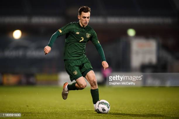 Dublin Ireland 19 November 2019 Lee O'Connor of Republic of Ireland during the UEFA European U21 Championship Qualifier match between Republic of...