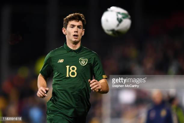 Dublin Ireland 19 November 2019 Thomas O'Connor of Republic of Ireland during the UEFA European U21 Championship Qualifier match between Republic of...