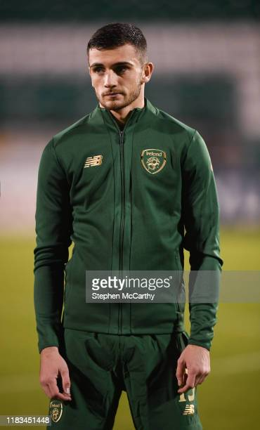 Dublin Ireland 19 November 2019 Troy Parrott of Republic of Ireland during the UEFA European U21 Championship Qualifier match between Republic of...