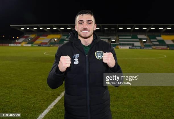 Dublin Ireland 19 November 2019 Troy Parrott of Republic of Ireland after the UEFA European U21 Championship Qualifier match between Republic of...