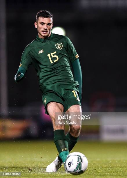 Dublin Ireland 19 November 2019 Troy Parrott of Republic of Ireland during the UEFA European U21 Championship Qualifier match between Republic of...