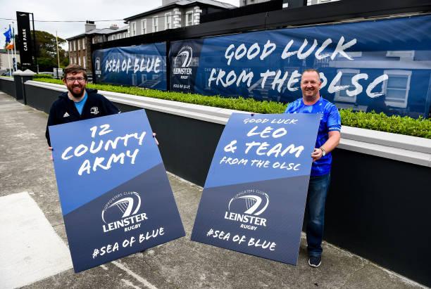 IRL: Leinster Rugby v Saracens - Heineken Champions Cup: Quarter Final