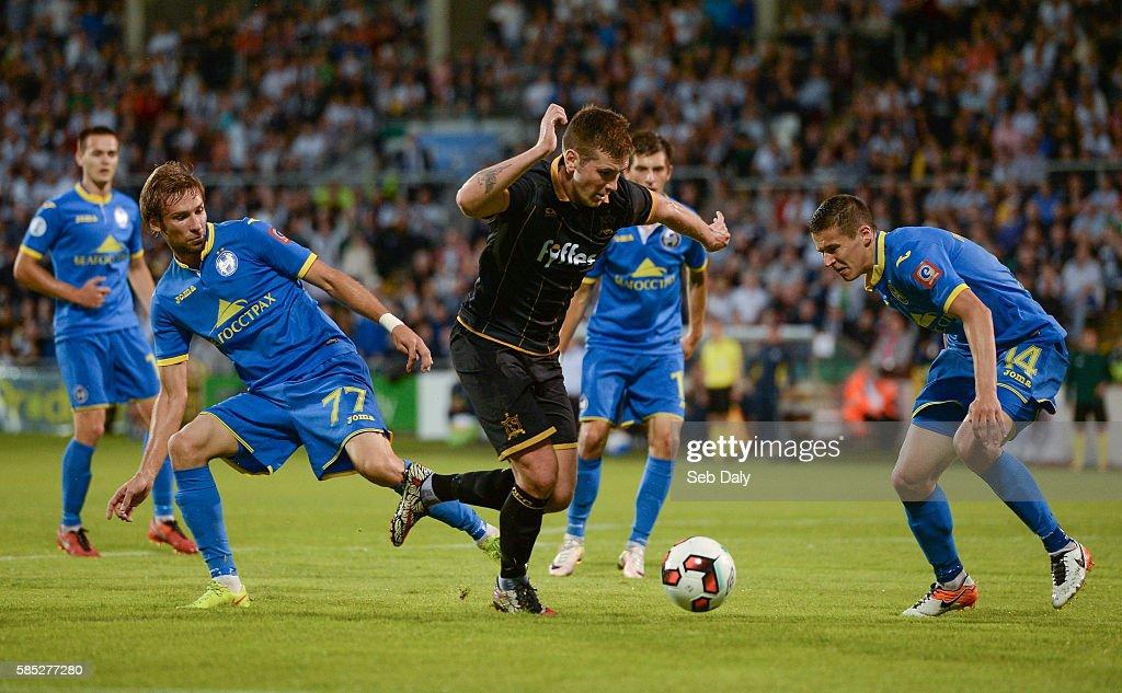 Dundalk v BATE Borisov - UEFA Champions League Third Qualifying Round 2nd Leg : News Photo