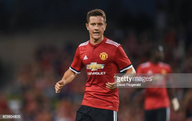Dublin Ireland 2 August 2017 Ander Herrera of Manchester United during the International Champions Cup match between Manchester United and Sampdoria...