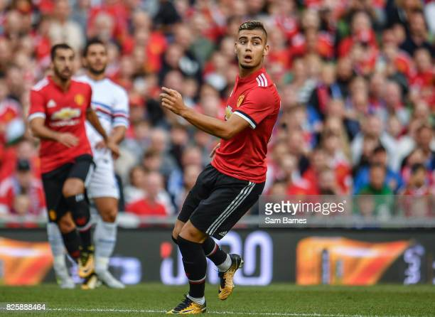 Dublin Ireland 2 August 2017 Andreas Pereira of Manchester United during the International Champions Cup match between Manchester United and...