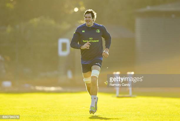 Dublin Ireland 2 January 2017 Mike McCarthy of Leinster during squad training at UCD in Dublin