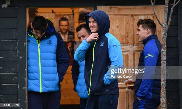 Dublin Ireland 2 January 2018 Jonathan Sexton during Leinster Rugby squad training at UCD in Dublin