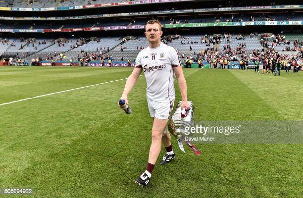 Dublin Ireland 2 July 2017 Joe Canning of Galway at the end of the Leinster GAA Hurling Senior Championship Final match between Galway and Wexford at...