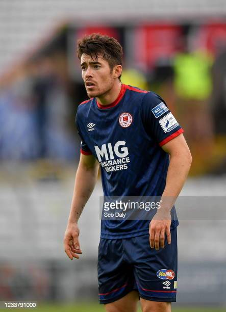 Dublin , Ireland - 2 July 2021; Lee Desmond of St Patrick's Athletic during the SSE Airtricity League Premier Division match between Bohemians and St...