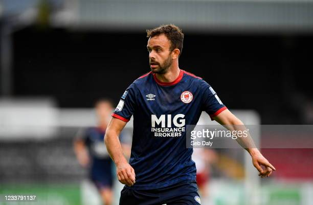Dublin , Ireland - 2 July 2021; Robbie Benson of St Patrick's Athletic during the SSE Airtricity League Premier Division match between Bohemians and...