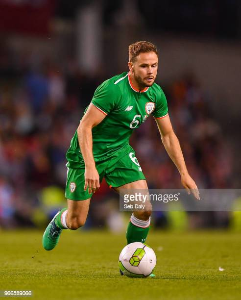 Dublin Ireland 2 June 2018 Alan Judge of Republic of Ireland during the International Friendly match between Republic of Ireland and the United...