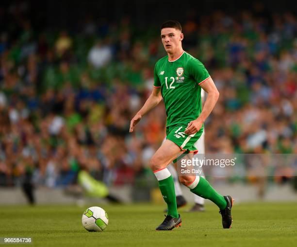 Dublin Ireland 2 June 2018 Declan Rice of Republic of Ireland during the International Friendly match between Republic of Ireland and the United...