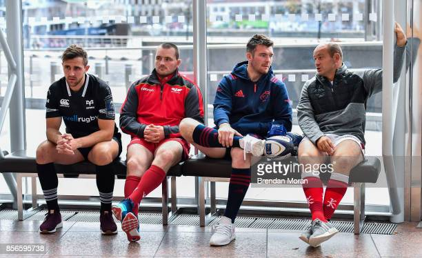 Dublin Ireland 2 October 2017 In attendance at the European Rugby Champions Cup and Challenge Cup 2017/18 season launch for PRO14 clubs at the...