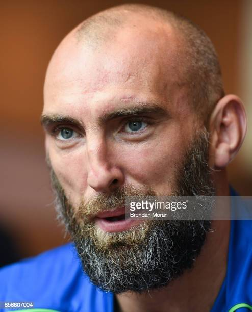 Dublin Ireland 2 October 2017 John Muldoon of Connacht in attendance at the European Rugby Champions Cup and Challenge Cup 2017/18 season launch for...