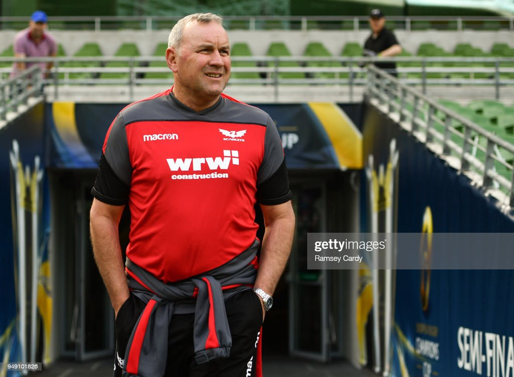Scarlets Captains Run