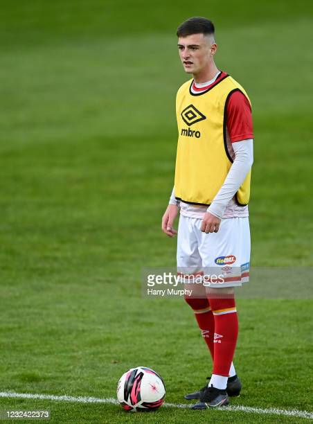 Dublin , Ireland - 20 April 2021; Ben McCormack of St Patrick's Athletic prior to the SSE Airtricity League Premier Division match between St...