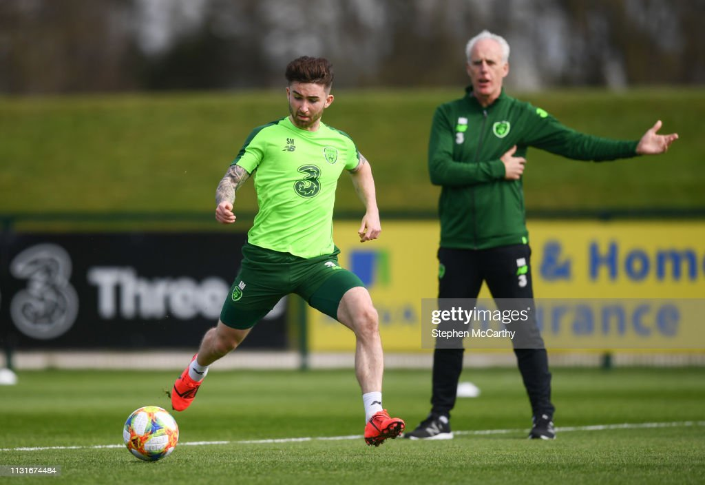 Republic of Ireland Training Session and Press Conference : News Photo