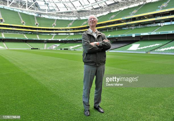 Dublin Ireland 20 September 2010 Former Republic of Ireland manager Jack Charlton at launch of an Airtricity's campaign at the Aviva Stadium...