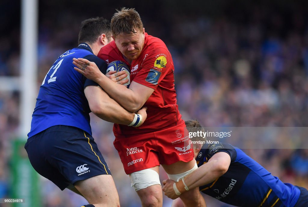 Leinster Rugby v Scarlets - European Rugby Champions Cup Semi-Final : News Photo