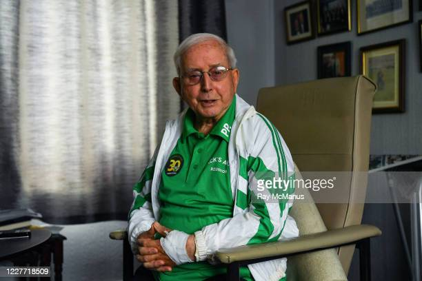 Dublin Ireland 21 July 2020 Former Republic of Ireland squad kit manager Charlie O'Leary after watching the broadcast of Jack Charltons funeral...