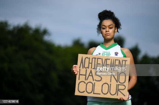 Dublin Ireland 21 June 2020 Former Ulster Rockets basketball player Mimi Troy in Donabate Dublin To The New Generation is a series of portraits of...