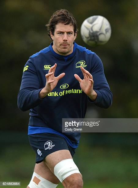 Dublin Ireland 21 November 2016 Mike McCarthy of Leinster during squad training at UCD in Dublin