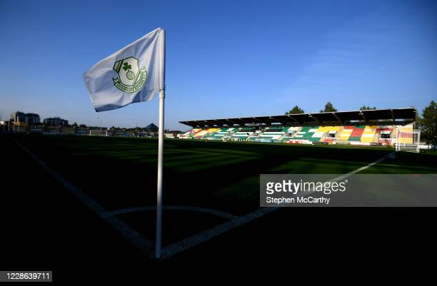 Dublin Ireland 21 September 2020 A general view of Tallaght Stadium prior to the SSE Airtricity League Premier Division match between Shamrock Rovers...