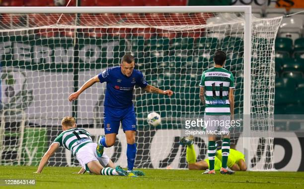 Dublin Ireland 21 September 2020 Michael O'Connor of Waterford after scoring his side's first goal during the SSE Airtricity League Premier Division...