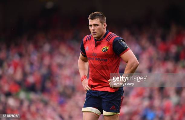 Dublin Ireland 22 April 2017 CJ Stander of Munster following the European Rugby Champions Cup SemiFinal match between Munster and Saracens at the...