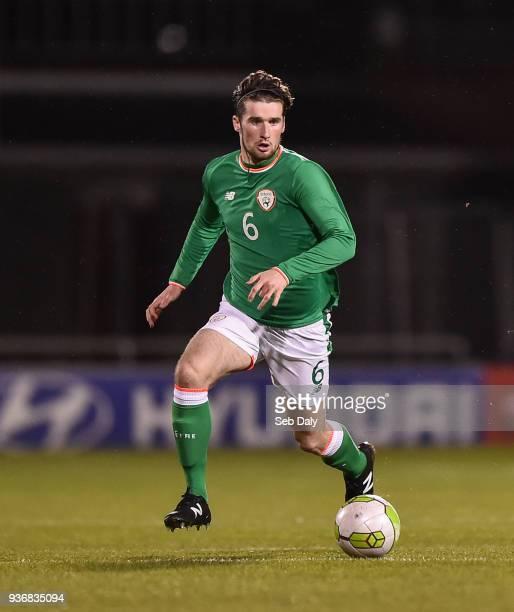 Dublin Ireland 22 March 2018 Corey Whelan of Republic of Ireland during the U21 International Friendly match between Republic of Ireland and Iceland...