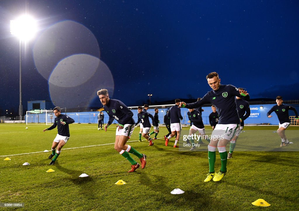 Republic of Ireland v Iceland - U21 International Friendly