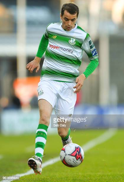 Dublin Ireland 22 May 2018 Sean Kavanagh of Shamrock Rovers during the SSE Airtricity League Premier Division match between Shamrock Rovers and St...