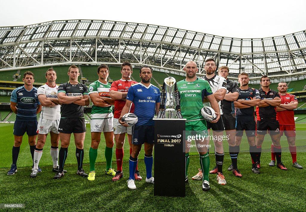 Guinness PRO12 2016/17 Championship Launch : News Photo