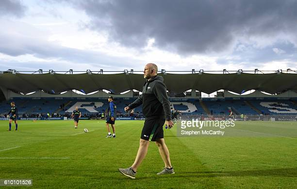 Dublin Ireland 23 September 2016 Ospreys head coach Steve Tandy during the Guinness PRO12 Round 4 match between Leinster and Ospreys at the RDS Arena...