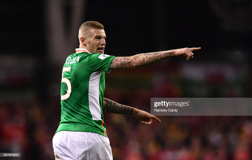 Republic of Ireland v Wales - FIFA World Cup Qualifier Group D : News Photo