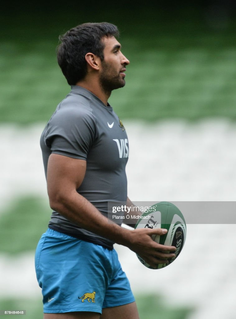 Argentina Rugby Captain's Run and Press Conference